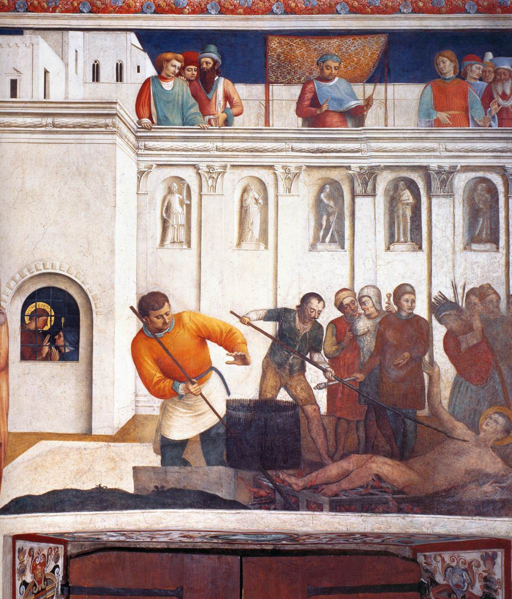 6-Fra Angelico - Martyr de Saint Laurent